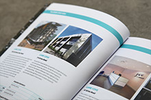 Example of Pictura Creative Annual Report print design