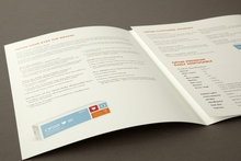 Example of health care product brochure printed in Sydney by Pictura Creative