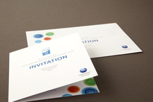 An example of a special invitation to an educational seminar designed and printed by Pictura Creative