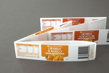 Adhesive labels for retail food and beverage products, design and print management by Pictura Creative in Camperdown