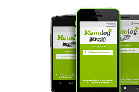 Menulog -  Mobile App & Website Design
